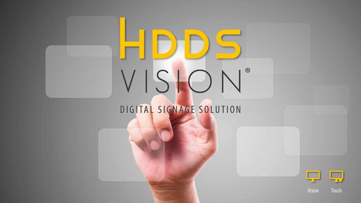 Fiere e digital signage: le soluzioni di HDDS VISION