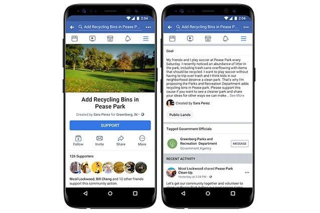facebook petizioni esempio
